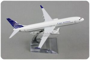 Copa Airlines BOEING 737-800 Passenger Airplane Plane Aircraft Diecast Model