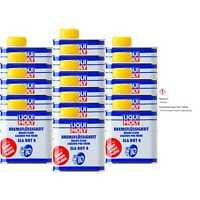 16x Liqui Moly Bremsflüssigkeit SL6 DOT 4 Bremsen Flüssigkeit Brake Fluid 500 ml
