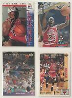 Upper Deck He's Back March 19, 1995 Michael Jordan Cards #s 44 425 402 204 Lot
