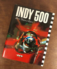 Indy 500 - More Than A Race - Tom Carnegie - HC / DJ 1976
