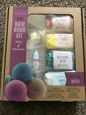 Diy Bath Bomb Make Your Own Fizz Kit Scented Essential Oil Fun Craft Makes 6 New