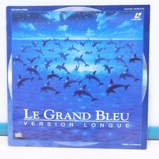 2 x LASER DISC LE GRAND BLEU B.O. Film Vidéo PAL Luc BESSON Laserdisc VOX VIDEO