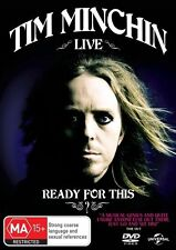 Tim Minchin - Ready for This? | DVD Region 4 | Free Shipping | Brand new sealed