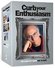 CURB YOUR ENTHUSIASM - SEASON 1 TO 8 - DVD - REGION 2 UK