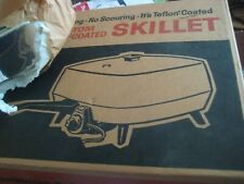 Vintage  General Electric G.E.  Buffet Skillet With TEFLON COATED  MODEL C126T