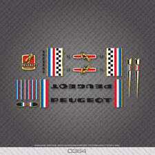 0364 Peugeot Bicycle Frame Stickers - Decals - Transfers