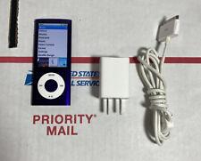 *NR MINT🔥 -APPLE iPod Nano Player 5th Gen A1320 8 GB PURPLE -100% WARRANTY