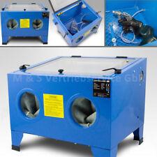 BITUXX® Sandstrahlkabine 90 Liter Tisch Industrie Sandstrahlgerät Sandstrahlen