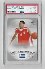 2013-14 13-14 SP Authentic GIANNIS ANTETOKOUNMPO Rookie Card RC #36 PSA 8