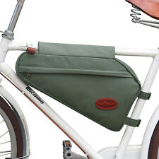 Bike Panniers Bicycle Tube Frame Pouch Saddle Bag Triangle Case Waterproof Cycle