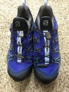 Salomon Ortholite Contagrip Gore-tex Mens Outdoor Shoes Size 7.5
