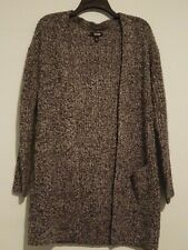 Ana Drop Shoulder Cardigan Black Marl X-small NWT