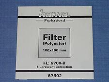 Hama Wratten  Filter  100x100  FL  5700-B
