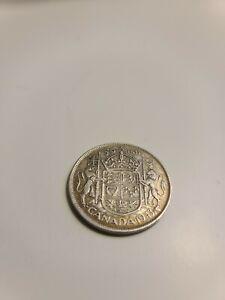 Canada 1943 50 Cent Silver