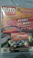 Le Mans 24 hours programme 2002