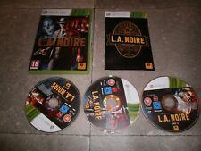 Jeu XBOX360 PAL Version Française: L.A. NOIRE - Complet TBE