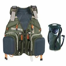 Fly Fishing Backpack Vest with Water Bladder Combo
