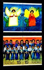 SELLOS NAVIDAD NAURU 1976 143/46 4v.
