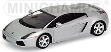Lamborghini Gallardo 2003-11 silber silver metallic 1:43 Minichamps