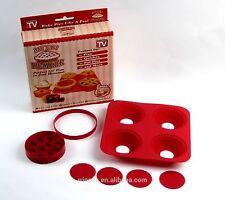 Mini Pie Mold Cutter Silicone Disc Cake Pie Tart Resin Coaster Mold Kit Recipe