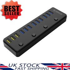 ORICO 12-Port USB 3.0 Hub with 3 BC 1.2 Ports Charging for Mac Windows XP/7/8/10