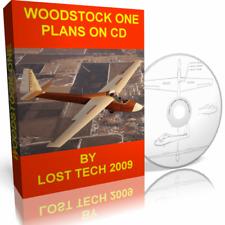 Build Woodstock One Sailplane Diy Plans On Cd