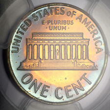 PQ Toned 1962 PR64 Lincoln Cent 1c Proof Penny graded by PCGS!!