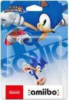 Amiibo Super Smash Bros Sonic Nintendo Switch 3DS Wii U Japanese version import