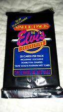 1993 ELVIS PRESLEY-RARE JUMBO PACK OF TRADING CARDS-1 INSERT PER PACK-GOLD PLAT.