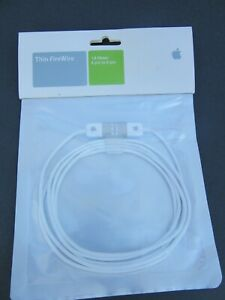 Apple Thin FireWire Cable 1.8m / 5ft 11in Genuine Apple 6 Pin To 6 Pin M8707G/A