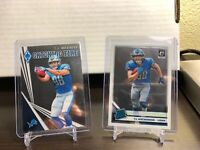 TJ Hockenson Rookie Lot(2)!! Pheonix Catching Fire, Optic Rated Rookie!! Lions🏈