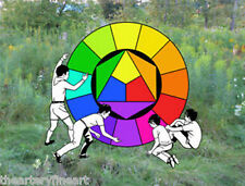 DARYL VOCAT 'Color Wheel' SIGNED Limited Edition Poster #25/50 GAY Interest NEW!