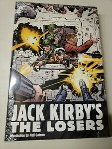 Jack Kirby's The Losers Graphic Novel Hardcover HC TPB DC Comics New Sealed