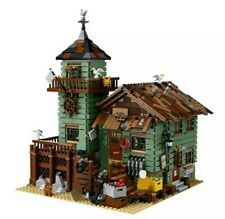 MOC The Old Fishing Store - 21310 LEGO COMPATIBILE - 2294 PEZZI -DHL- NUOVO -