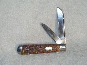 Vintage Bone Boker USA Knife - 1899- 1921