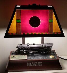 Lionel #25585 Animated Hudson 700E Locomotive Table Lamp (Lights, Motion, Sound)