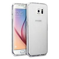 SIMPLE SOUPLE GEL SILICONE CAOUTCHOUC Étui Noir Housse Coque Pour Samsung S8