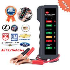 12V LED Load Tester Alternator Analyzer Car Battery Diagnostic Tool Auto Scanner