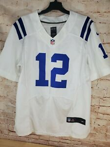 Nike NFL Onfield Jersey Andrew Luck sz 40 White Stitched Indianapolis Colts #12