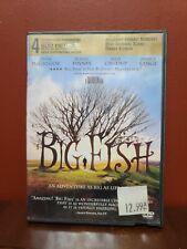 Big Fish Dvd Tim Burton(Dir) 2003 Ex Rental Very Good