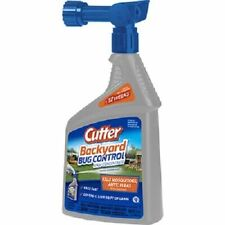 Cutter Backyard Bug Control Concentrate 32 oz Hose Spray Kills Mosquitoes Ants