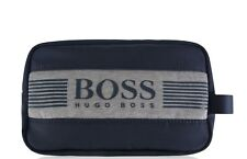 NEW Hugo Boss Green Label Navy Pixel Wash / Toiletry / Shaving  Bag. BNWT