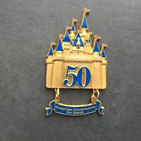 Happiest Celebration On Earth - Golden Castle Dangle Disney Pin 40578