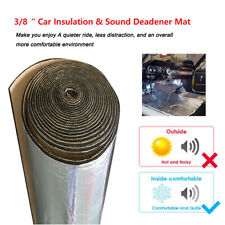 Car Firewall Heat Shield Insulation Sound Deadener Noise Absorbing Pad 35