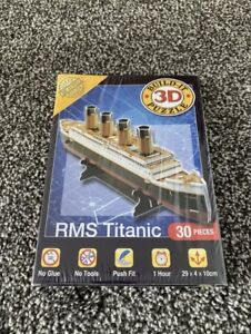 Cheatwell Games Build It 3D Puzzle RMS Titianic 30 Pieces - BRAND NEW SEALED