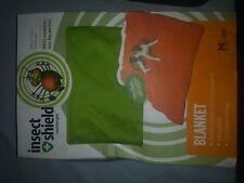 Insect Shield Repellent Gear Green Dog Blanket - Medium 56 L x 48 W - New