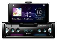 Pioneer SPH-20DAB MP3-Autoradio mit DAB Bluetooth USB iPod