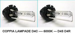 COPPIA LAMPADE D4S D4C 6000K 42V 35W  Honda Mazda Toyota No Hg NUOVE GHIACCIO