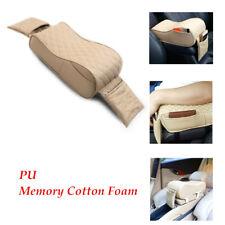 1PC Beige Car Seat Rest Center Box Armrest Pillow Memory Cotton Foam Cushion