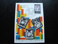 FRANCE - carte 1er jour 13/3/1976 (journee du timbre) (cy92) french